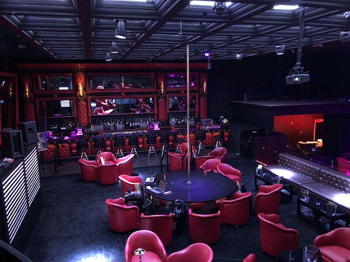 Inside the Gold Rush Cabaret in Miami