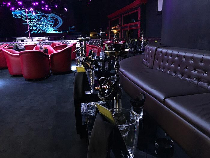 Luxury lounges at Miami's Gold Rush Cabaret