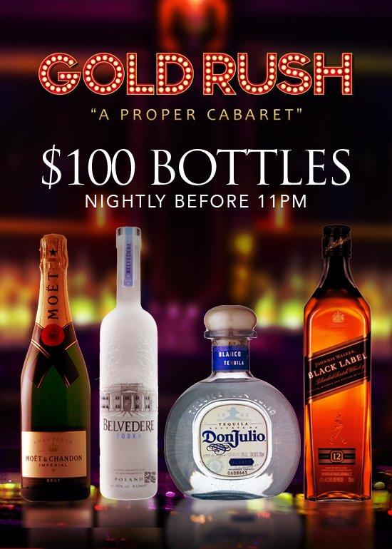 Miami VIP Bottle Specials