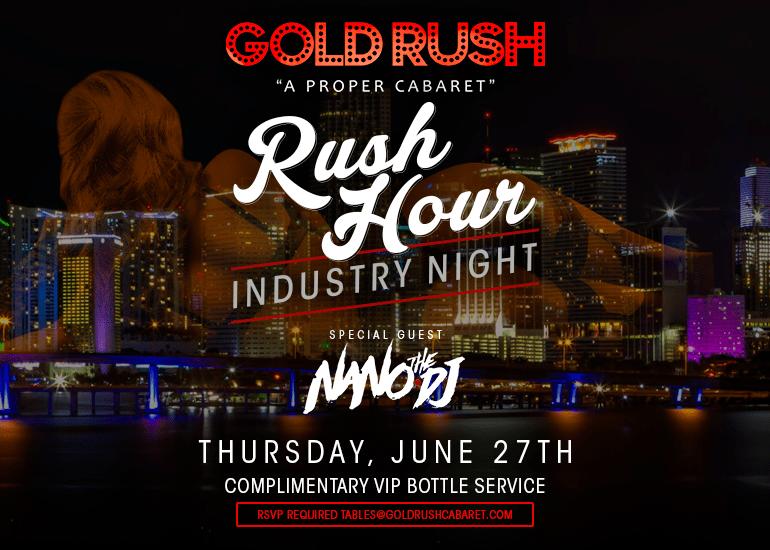 Gold Rush Cabaret Best Strip Club In Miami
