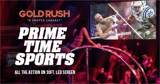 Gold Rush Cabaret Miami Prime Time Sports